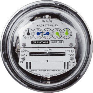 electricity meter transparent for | Expense Management from 8760